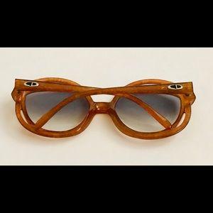 Dior Accessories - New Vintage Christian Dior Amber Sunglasses